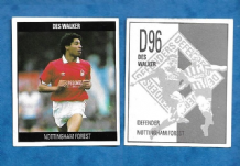 Nottingham Forest Des Walker England D96